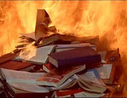 literature book burning fahrenheit 451 by ray bradbury