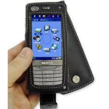 Nokia 6708 Leather Flip Case (Black ...
