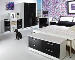 bedroom furniture black gloss. Louise Range Bedroom Furniture Black Gloss A