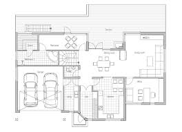 big modern houses plans modern house ch81 with floor plans and details