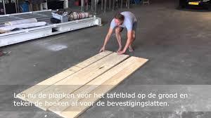 Steigerhout Tafel Basic Voordemakersnl