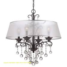crystal chandelier with sheer drum shade inspirational 11 best dining room chandelier images on