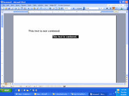 Basic Formatting For A Microsoft Word Document