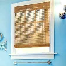 bamboo roll up blinds outdoor shades natural the home depot inside ideas roller