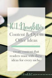 Best 25 Newsletter Ideas Ideas On Pinterest Copywriting