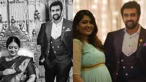 Meghana Raj's baby shower photos featuring late Chiranjeevi Sarja will  bring a smile on your face | Regional-cinema News – India TV