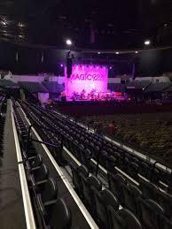 Pechanga Arena Section Ll23 Row 7 Seat 7 Home Of San