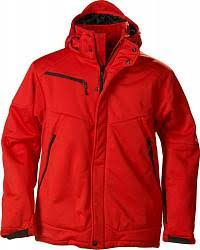 <b>Куртка софтшелл мужская Skeleton</b> красная, размер L купить ...