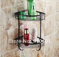 oil rubbed bronze bathroom caddy. wholesale and retail promotion new oil rubbed bronze bathroom corner shelf shower storage caddy cosmetic holder n