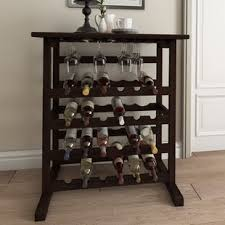 Small wine racks Theturkishpassport Eliza 24 Bottles Floor Wine Rack Wayfair Find Wine Racks For Your Kitchen Wayfair