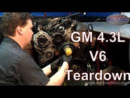 gm chevrolet or gmc l v engine tear down gm chevrolet or gmc 4 3 l v6 engine tear down