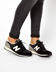 new balance u420. image 1 of new balance 420 black and grey suede trainers u420