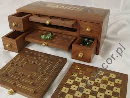 Wooden Multi Game Board Classy Wooden Multi Game Box 32x32x32cm [AZ32] Wooden Boxes You Can