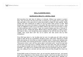 moll flanders essay marriage and wealth a moral issue document image preview