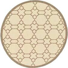 home depot outdoor rugs round outdoor rugs outdoor beige 6 x 6 round indoor outdoor rug home depot