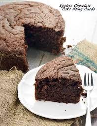 Eggless Chocolate Cake Using Curd Eggless Chocolate Curd Cake Recipe