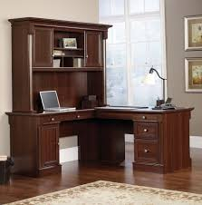 shaped home office. elegant l shaped office desk with hutch home f