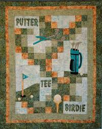 Gone Golfing Quilt Pattern | Manly Quilts | Pinterest | Patterns ... & Gone Golfing Quilt Pattern Adamdwight.com