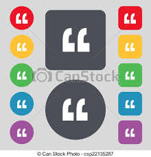 Quote Symbol Cool Quote Sign Icon Quotation Mark Symbol Double Quotes At The End Of