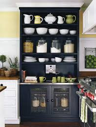 Kitchen Cabinets With No Doors Black Kitchen Pantry Storage Outofhome