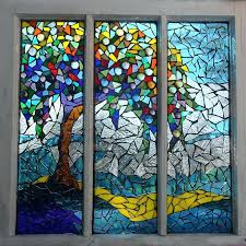 stained glass mosaic mosaic stained glass summers colors glass art simple stained glass mosaic patterns