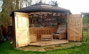 Small Picture Heres Why Tiny Bar Sheds Are The Hottest New Trend