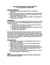 beowulf synthesis essay prompt by missenglish teachers pay teachers beowulf synthesis essay prompt