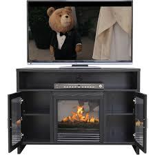 d eacute cor flame hudson 42 a fireplace for tvs up to 50 black com