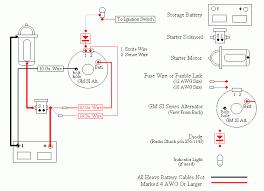 acdelco 4 wire alternator wiring diagram wiring diagram and gm 2 wire alternator to 4 wire at 4 Wire Alternator Diagram