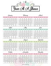 The Year Calendar 2019 Yearly Calendar Free Printable Simply Stacie