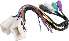 metra 70 7551 receiver wiring harness connect a new car stereo in rockford fosgate amp wiring diagram at Rockford Fosgate Wiring Harness