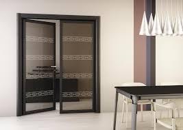 Double Swing Doors Dark Glass Double Swing Doors