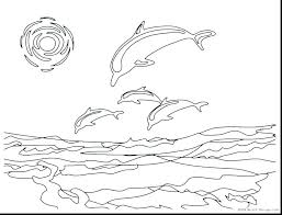 Coloring Pages Dolphins Dolphin Coloring Pages To Print Out Coloring