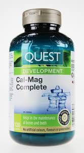picture of quest cal mag plete 120 tablets