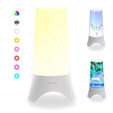 Night Light Bedside Lamps Colorful Rechargeable Table Lamp With