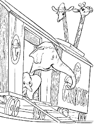 Coloring Pages Dumbo Animated Images Gifs Pictures