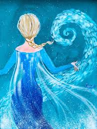elsa from frozen easy painting tutorial free on you learn several fun painting methods in