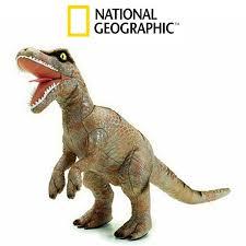 realistic velociraptor dinasaurs soft plush toy brands national geographic austria