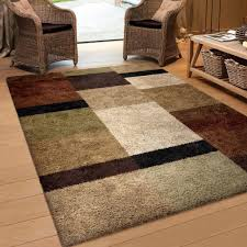 use geometric area rugs contemporary