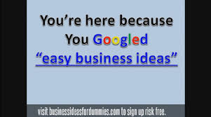 Easy Business Ideas Starting A Small Business In 2017 Youtube