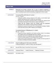 Purchase Resume Samples Purchase Officer Resume Format Top 8 Senior Procurement Samples