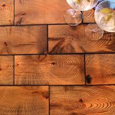 End grain flooring We have 95 square wood tiles which could