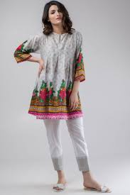 Casual Dress Designs Images 2018 Khaadi Stylish Summer Kurtas Dresses Pret Spring