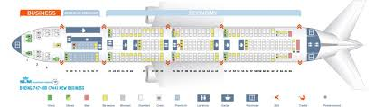 747 400 Seating Chart United Airlines Klm Fleet Boeing 747 400 Details And Pictures