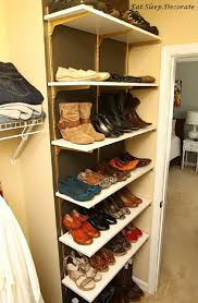 60 easy diy shoe rack ideas you can build on a budget how to