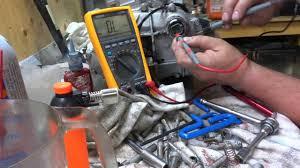seadoo stator testing and oil priming