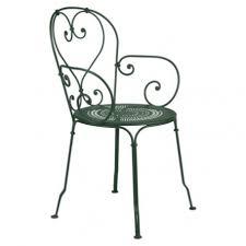 wrought iron garden armchair al