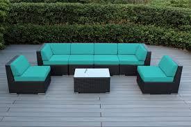 wicker patio furniture. Fine Furniture Click To Enlarge  Ohana Outdoor Wicker Patio Furniture 7 Piece Sectional  Backyard  In