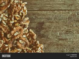 Baked Walnuts Snack Image Photo Free Trial Bigstock