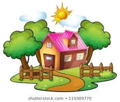 New Home Cartoon Images Cartoon House Images Stock Photos Vectors Shutterstock